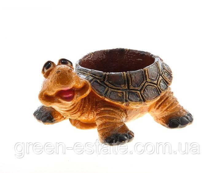 Черепаха кашпо