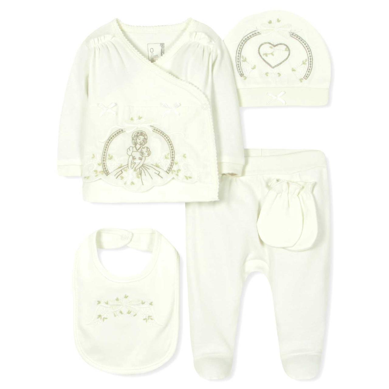 Комплект 10 в 1 для Новорожденной Девочки Caramell — в Категории ... 703dba93c5146