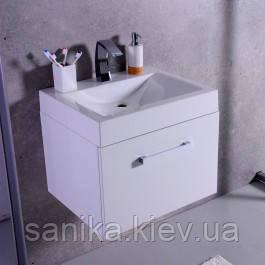 Шкафчик FANCY MARBLE  Santa Cruz с умывальником Lily 600C