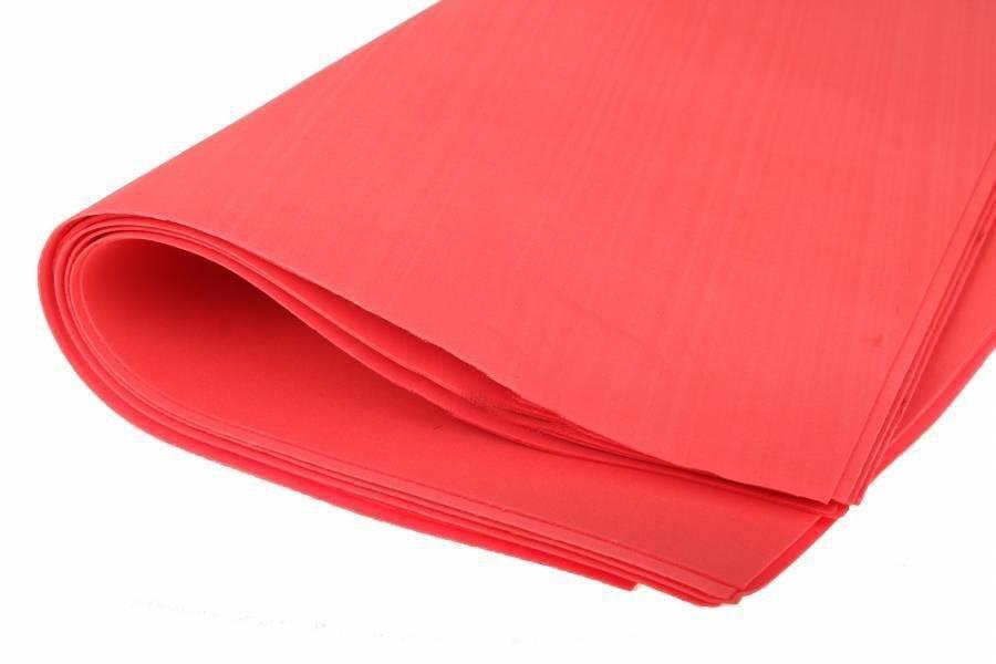 Фоамиран листовой  50 х 50 см., красный