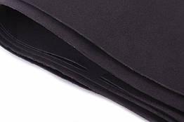 Фоамиран листовой  50 х 50 см., черный