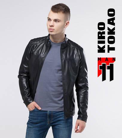 11 Kiro Tokao | Мужская демисезонная куртка 3140 черный