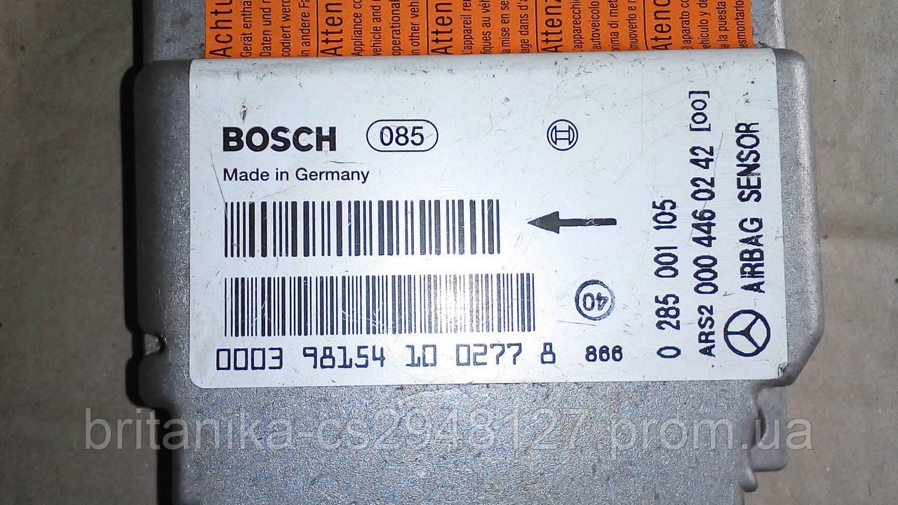 Блок управления подушкой безопасности Мерседес Спринтер 2.7 cdi Sprinter бу