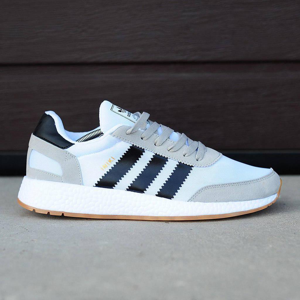 Adidas Iniki Runner Blue Grey Black (реплика)