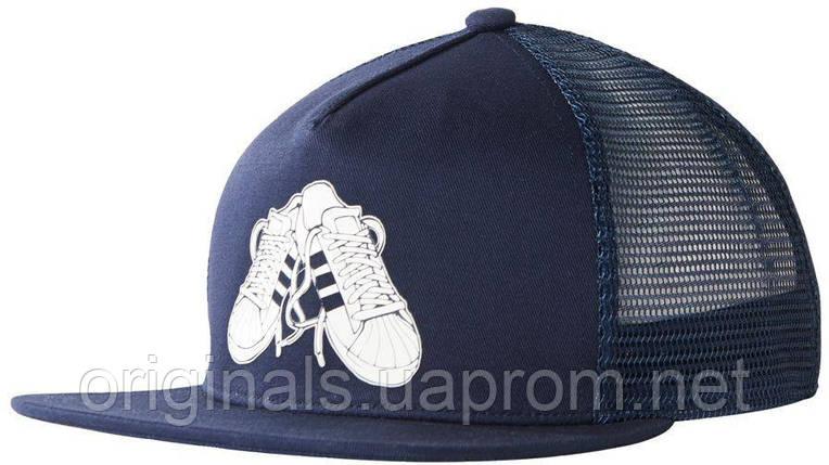 Кепка с сеткой Adidas Originals Trucker (Тракер) BK7387, фото 2