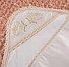 """Крыжма """"Святость"""" с вышивкой Атлас/кулир 75*100 см. Цвет молочный и белый"""