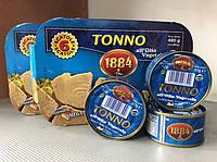 """Тунец в растительном масле """"Tonno 1884"""" 80г"""