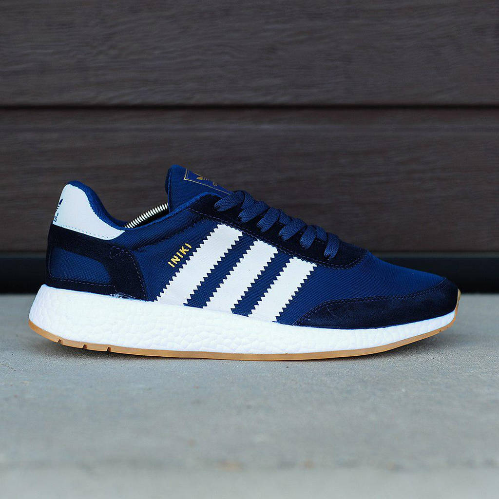 Adidas Iniki Runner Navy White (реплика)