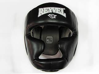 Шлем тренировочный REYVEL винил черный р-р L