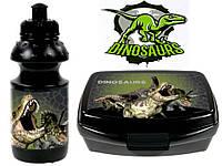 """Набор """"Dinozaur - Динозавр"""". Бутылка и Ланч бокс (ланчбокс)"""