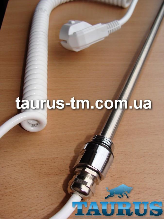 ЭлектроТЭН Чехия chrome под обогрев в полотенцесушитель, батарею, фанкойл, термостат на 85С; Мощность 300-400W