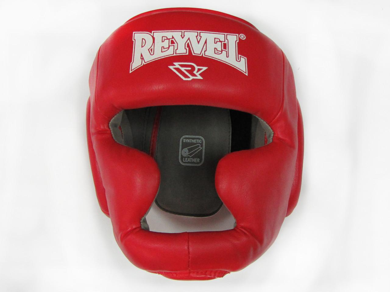 Шлем тренировочный REYVEL винил красный р-р L