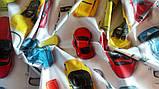"""Постельное белье """"Машинки"""" поплин, фото 3"""