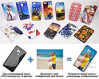 Печать на чехле для Huawei Honor 3 (Cиликон/TPU)