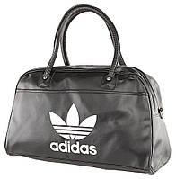 Модная дорожная сумка черного цвета Adidas 15118, Черный