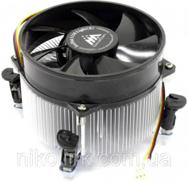 Кулер CPU GlacialStars IceHut 5059 Light (E), s775, 3-pin комиссионный товар