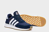 Мужские кроссовки adidas lniki runner синие, фото 1