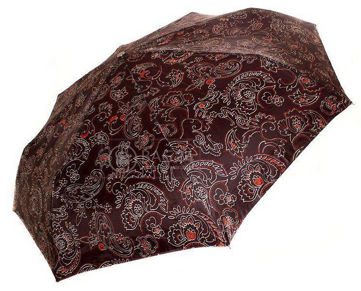 Коричневый женский зонт автомат  DOPPLER DOP74665GFG-GH-10, Коричневый