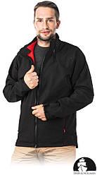 Водонепроникна Куртка чоловіча робоча чорна Leber&Hollman Польща (куртка робоча) LH-BULLOCK B