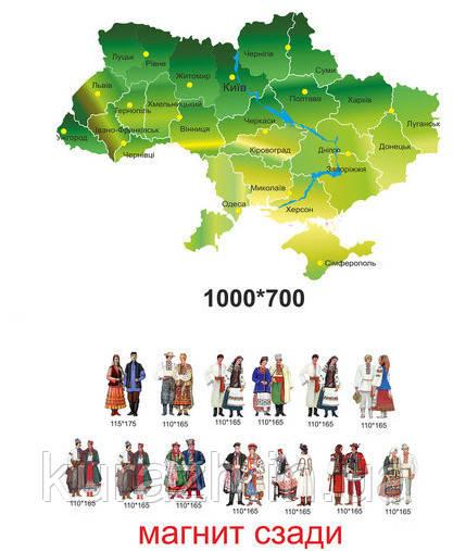"""Дидактичний стенд для навчання """"Народні костюми України"""""""