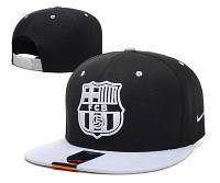 Кепка с прямым козырьком Nike Barcelona Snapback black-white