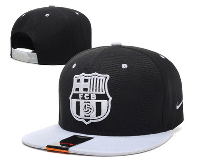 Кепка с прямым козырьком Nike Barcelona Snapback black-white - Интернет  магазин обуви Shoes- 679594bb324