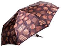 Элегантный зонт для милых дам, автомат  AIRTON Z3944-10, Коричневый