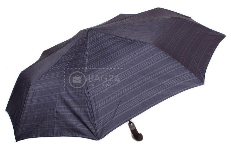 Полосатый мужсской зонт, автомат ZEST  Z139430-3, Черный