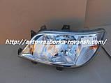Фары передние Мерседес Спринтер cdi комплект 2 шт бу Sprinter, фото 8