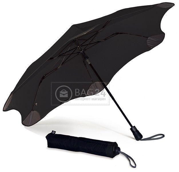 Противоштормовой зонт мужской полуавтомат BLUNT Bl-xs-black