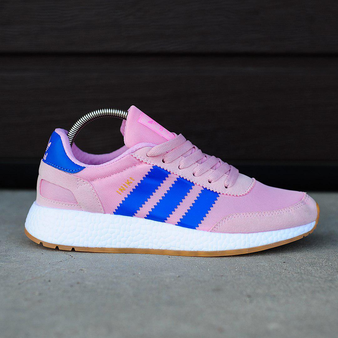 Adidas Iniki Runner Pink Blue (реплика)