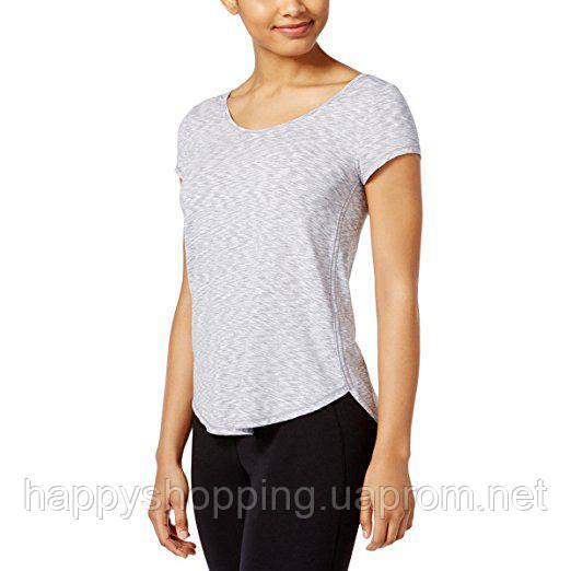 Женская светло-серая футболка для спорта Calvin Klein Perfomance