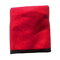Напульсник для спорта с карманом, красный