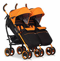 Коляска EasyGo Comfort Duo orange, фото 1