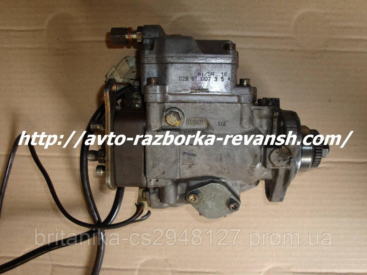 ТНВД (Топливный насос высокого давления ) Мерседес Спринтер 2.9 tdi