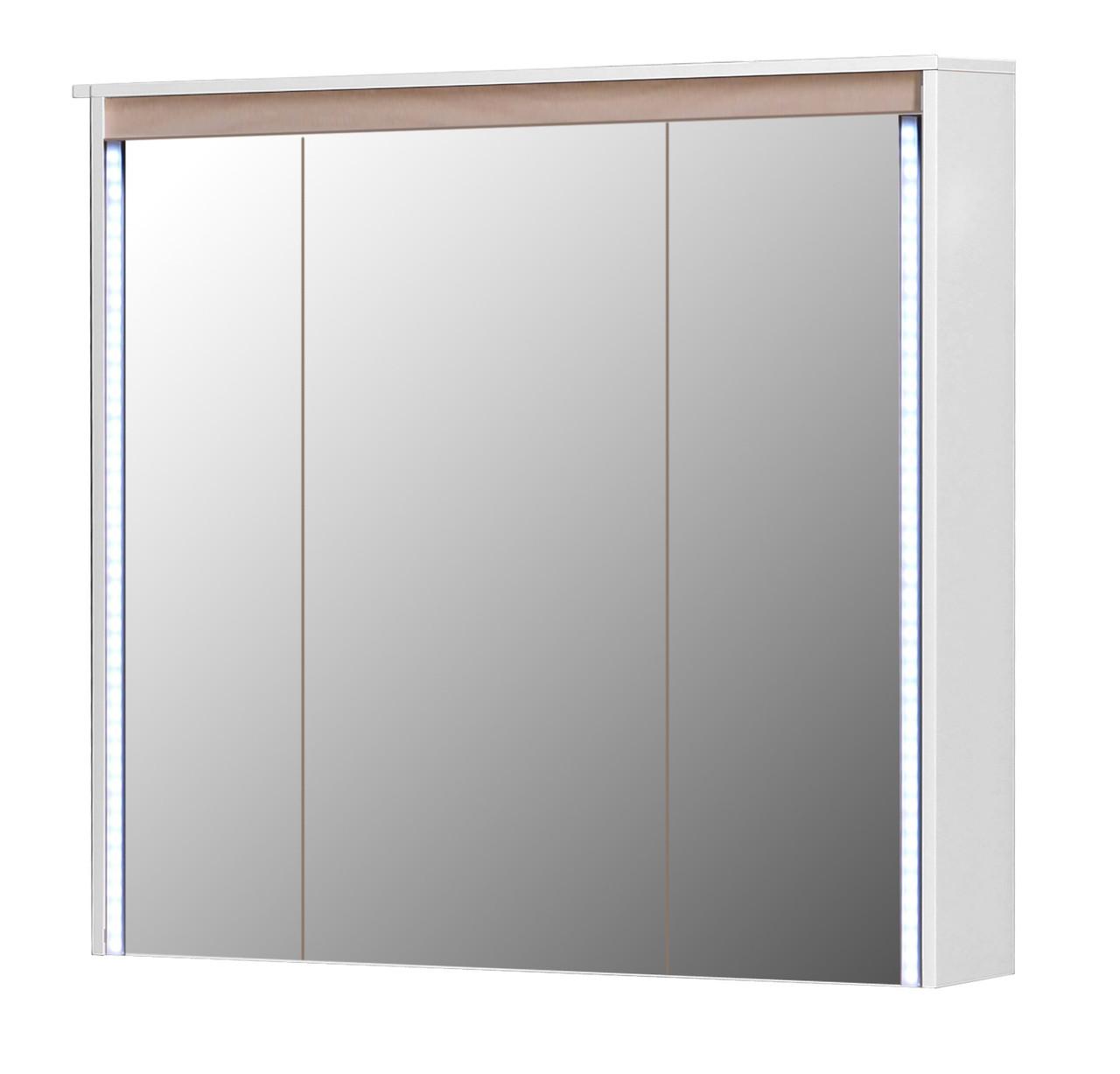 Зеркальный шкаф Мойдодыр Мадрид ЗШ-100 Береза