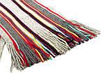 Шерстяной шарф в стилее Пол Смит ETERNO ES3016-15, Серый, фото 2