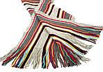 Шерстяной шарф в стилее Пол Смит ETERNO ES3016-15, Серый, фото 3