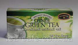 """Чай """"Маброк"""" Зеленый, 25 пак."""