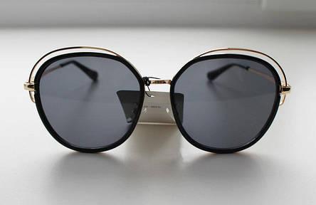 Фигурные солнцезащитные очки для женщин с темными линзами, фото 2