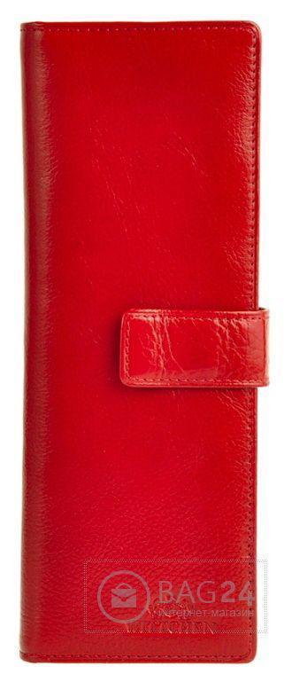 Стильная визитница из кожи Wittchen 21-5-140-3, Красный