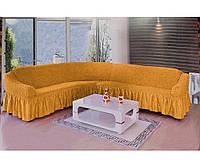 Чехол на угловой диван  DO&CO, Турция. ЦВЕТА РАЗНЫЕ.