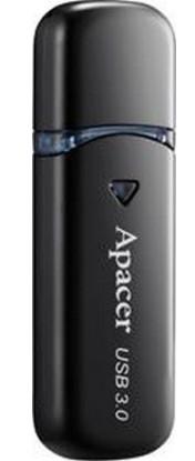 Флешка Apacer AH355, 32Gb, USB 3.0, черная