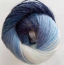 Пряжа для вязания Ангора голд батик ALIZE код 1899
