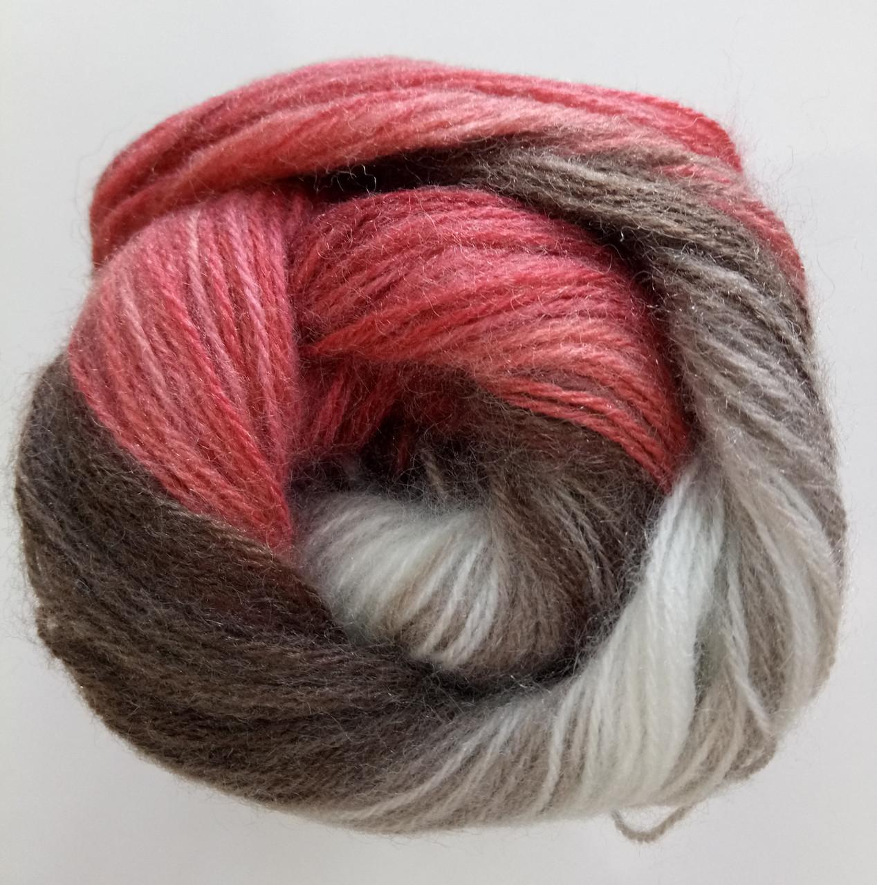 Пряжа для вязания Ангора голд батик ALIZE код 1984