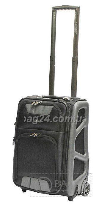 """Качественный дорожный чемодан Verus Monte Carlo Grey 20"""", Серый"""