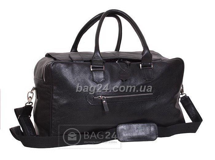 Шикарная кожаная дорожная сумка Vip Collection Украина, Черный