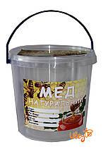 Этикетка «Мед натуральный», прямоугольная 7х10 см (самоклейка) — 100шт.