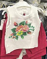 Летний костюм для девочки майка и бриджи