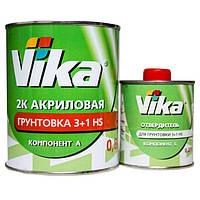 Грунт акриловый 4+1 HS Vika Вика (комплект 1,42кг) Черный